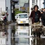 Przejście tajfunu Hagibis. Liczba ofiar wzrosła do 74