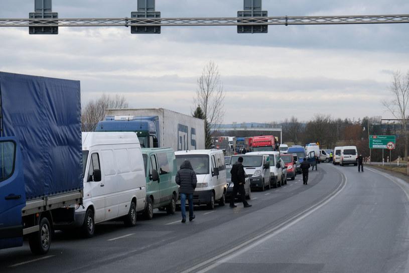 Przejście w Medyce koło Przemyśla /LUKASZ SOLSKI /East News