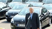 Przekazano flotę prezydencji - ponad 100 samochodów