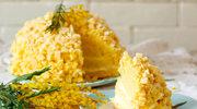 Przekładana mimoza z nutką pomarańczy i likieru