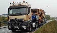 0009ABTS4JDCIML4-C307 Przekroczył dopuszczalną masę o 39 ton!