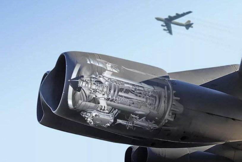 Przekrój przez silnik F-130 /materiały prasowe