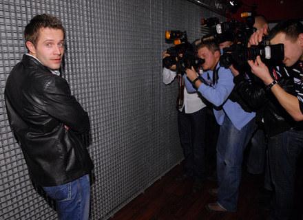 Przemek Cypryański zdał egzamin aktorski.fot.A.Szilagyi /MWMedia