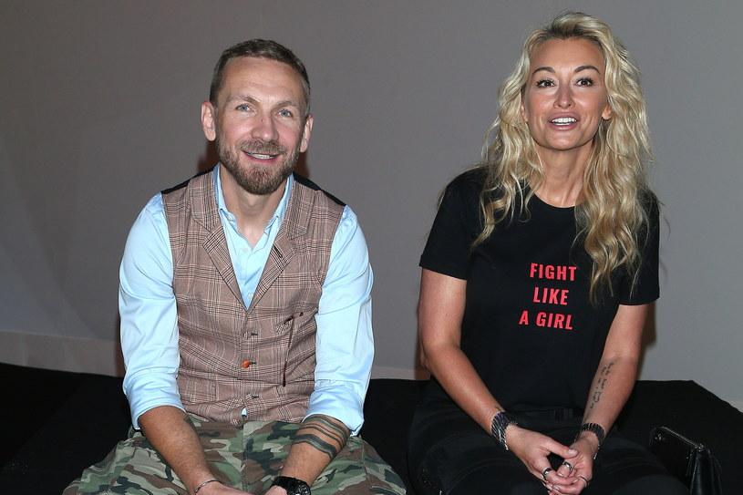 Przemek Kossakowski i Martyna Wojciechowska /Jarosław Antoniak /MWMedia