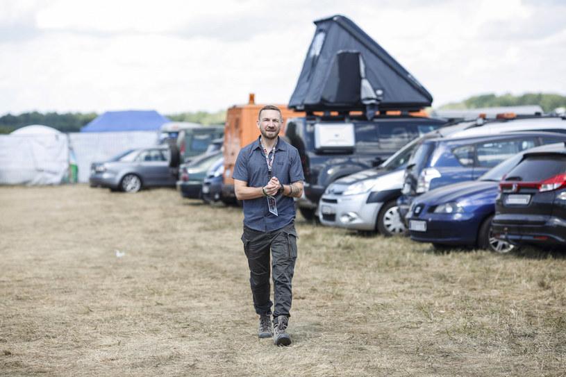 Przemek Kossowski  na Pol'and'Rock Festival /AKPA