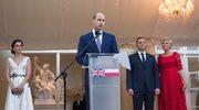 Przemówienie księcia Williama w Polsce