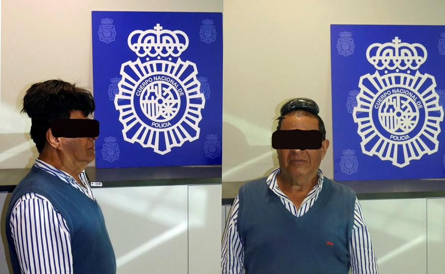 Przemycał kokainę pod tupecikiem /foto. SPANISH NATIONAL POLICE DPT /PAP/EPA