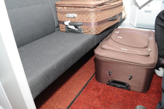 Przemycał w walizce żonę.../fot. Straż Graniczna /