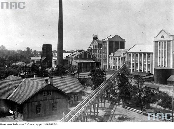 Fabryka chlorku potasu w Kałuszu w województwie stanisławowskim