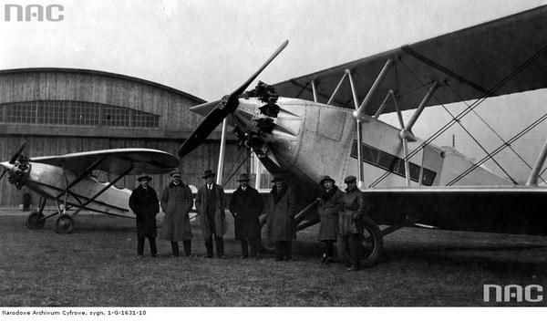 """Krajowa Fabryka Samolotów """"E. Plage, T. Laśkiewicz"""" w Lublinie. Samoloty Lublin R-X i R-IX wyprodukowane w fabryce"""