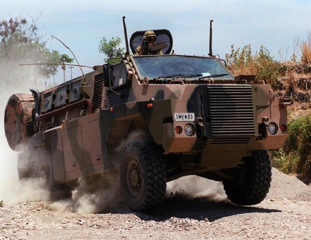 Przemysł zbrojeniowy liczy na Australijski wóż /AFP