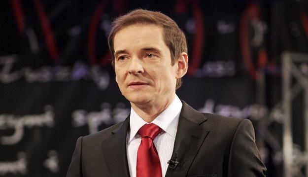 """Przemysław Babiarz, jedna z """"twarzy"""" akcji, fot. Marek Kuwak /East News"""