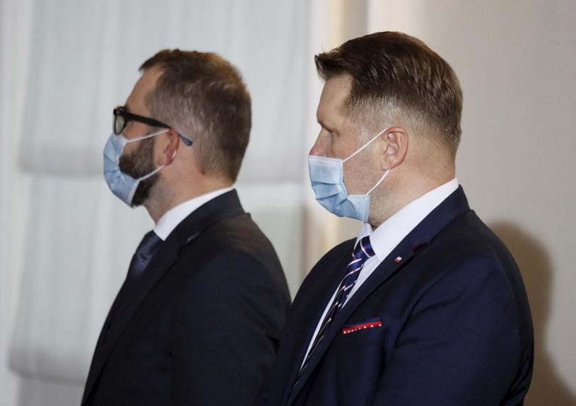 Przemysław Czarnek na prezentacji składu nowego rządu /Piotr Molecki /East News