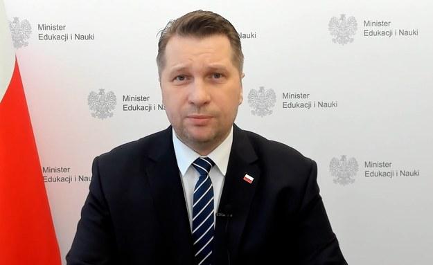 """Przemysław Czarnek stwierdził, że zachowanie dyrektora było """"doskonałe"""" /Piotr Szydłowski /PAP"""