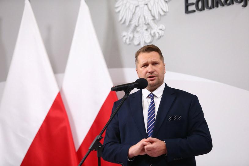 Przemysław Czarnek zapowiedział poprawki i podziękował za czujność /Tomasz Jastrzebowski/REPORTER /East News/ Zeppelin