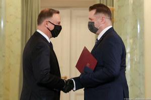 Przemysław Czarnek został powołany na ministra edukacji i nauki