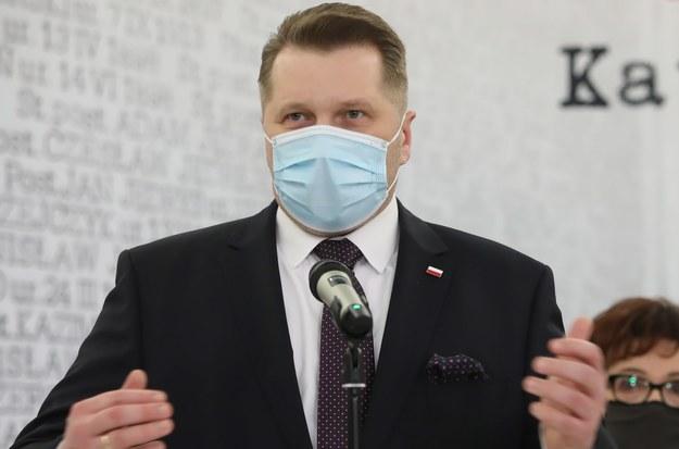 Przemysław Czarnek / Leszek Szymański    /PAP