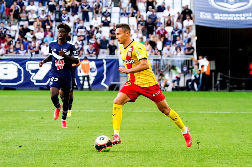Przemysław Frankowski w meczu RC Lens z Girondins Bordeaux /Hugo Pfeiffer/Icon Sport /Getty Images