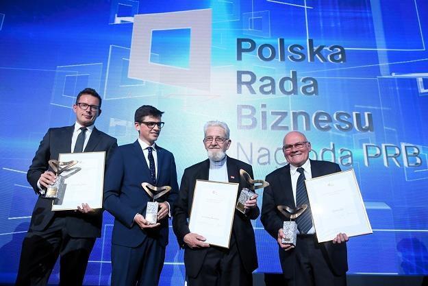 Przemysław Gacek, Bartosz Pilitowski, ks. Adam Boniecki, Zenon Ziaja /fot. Jacek Turczyk /