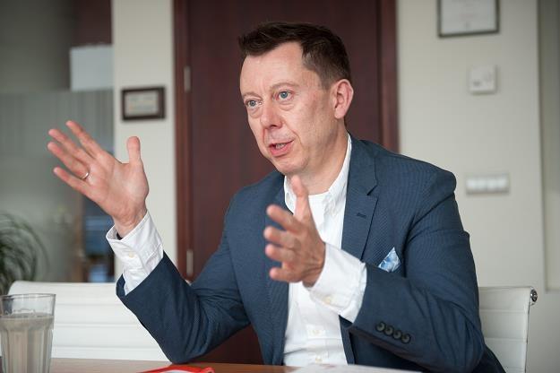 Przemysław Gdański, wiceprezes mBanku. Fot. Waldemar Kompała /INTERIA.PL