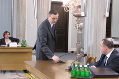 Przemysław Gosiewski przed komisją hazardową