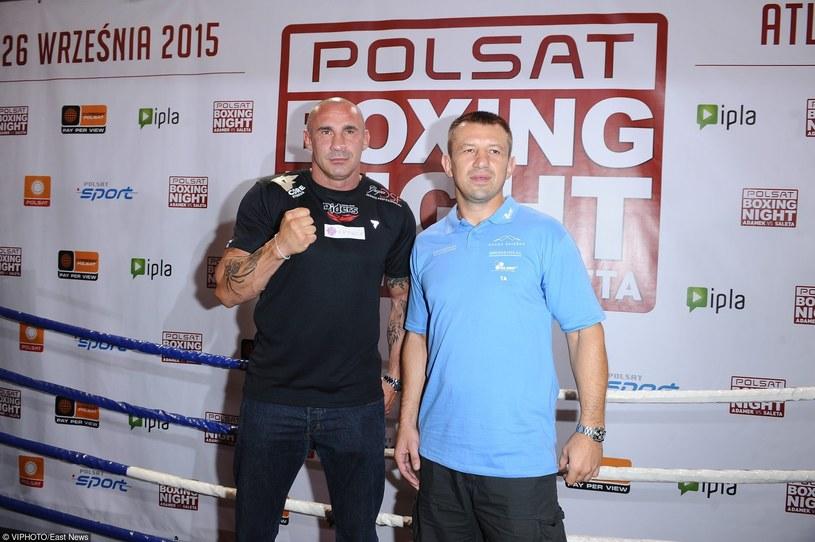 Przemysław Saleta i Tomasz Adamek /VIPHOTO /East News