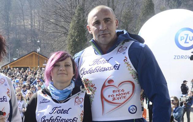 Przemysław Saleta z córką Nicole. Bieg po nowe życie w Wiśle /East News