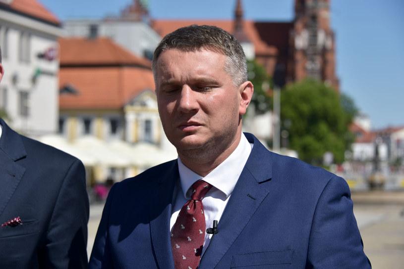 Przemysław Wipler: Nie byłem świadom, że przeprosiny nie zostały zamieszczone /Andrzej Zgiet /East News