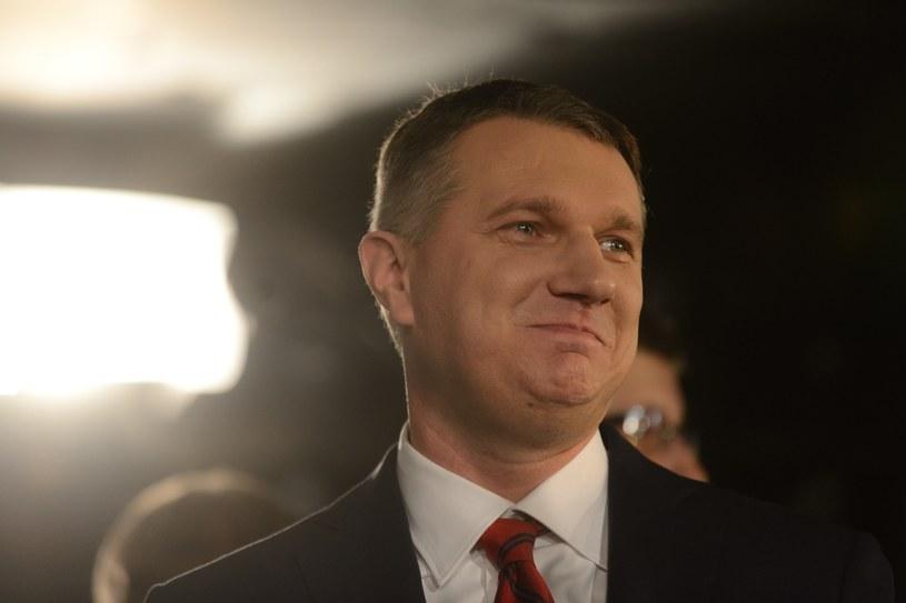 Przemysław Wipler zrezygnował z działalności politycznej. Na jak długo? /Bolesław Waledziak /Reporter