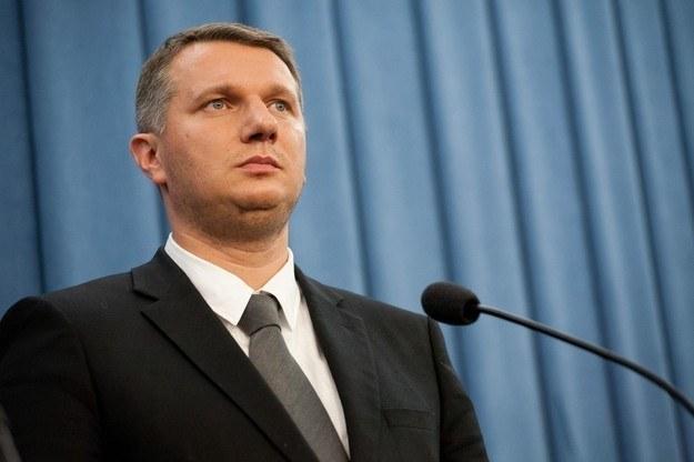 Przemysław Wipler. /Krystian Maj /Reporter