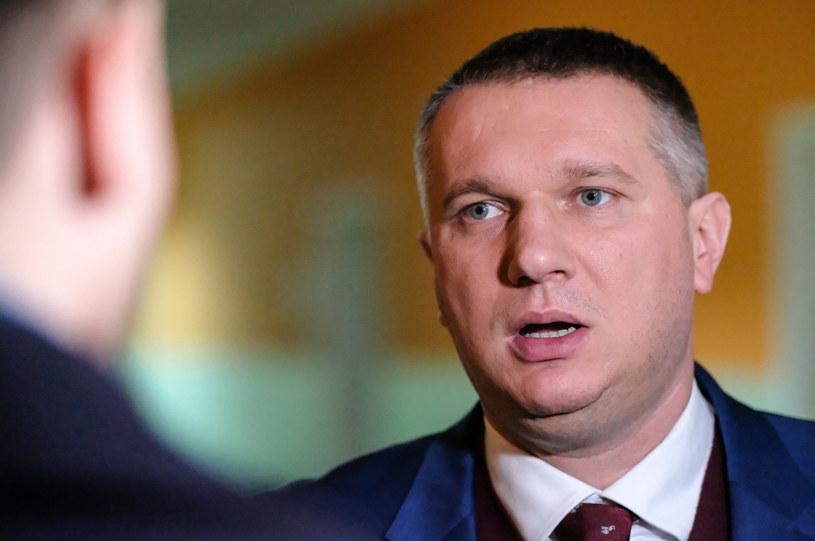 Przemysław Wipler /ADRIAN WYKROTA /East News
