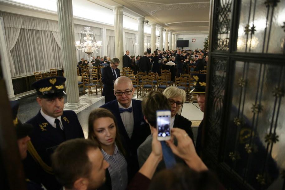 Przeniesione do Sali Kolumnowej posiedzenie Sejmu, 16 grudnia 2016 /Tomasz Gzell /PAP