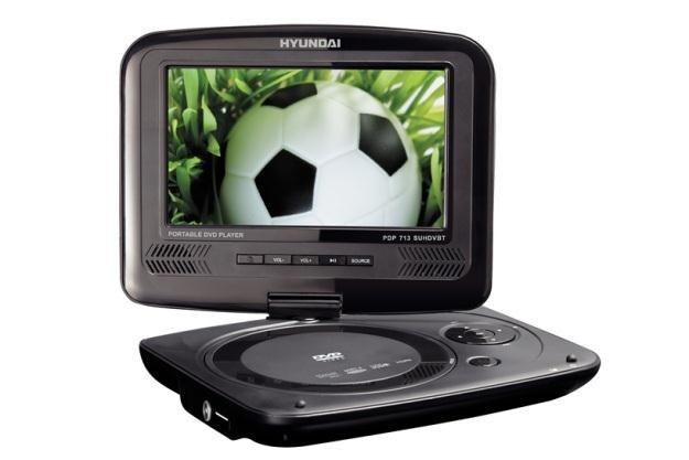 Przenośny odtwarzacz DVD z tunerem DVB-T od Hyundai Electronics /materiały prasowe