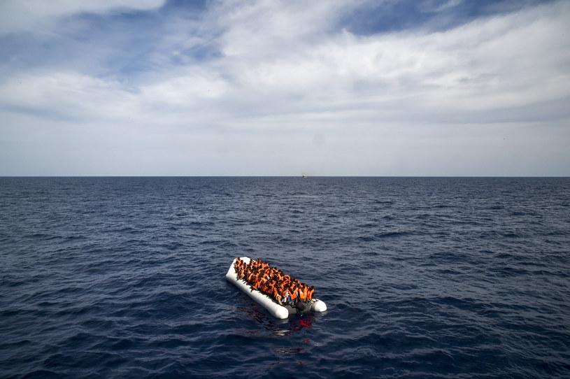 Przepełniona łódź zatonęła w drodze do Włoch (zdjęcie ilustracyjne) /AFP