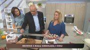 Przepis na brownie z chilli i białą czekoladą