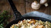 Przepis na risotto z pieczarkami