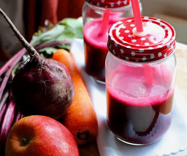Przepis na sok z buraków, który pomoże oczyścić wątrobę