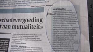 Przeprosiny belgijskiej gazety  /Katarzyna Szymańska-Borginon /RMF FM