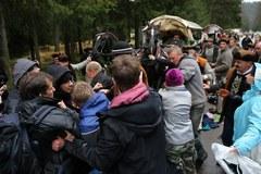 Przepychanki na terenie Tatrzańskiego Parku Narodowego