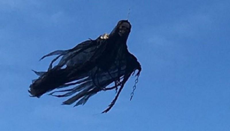 Przerażający dementor na niebie /@ZacCrueger  /Twitter