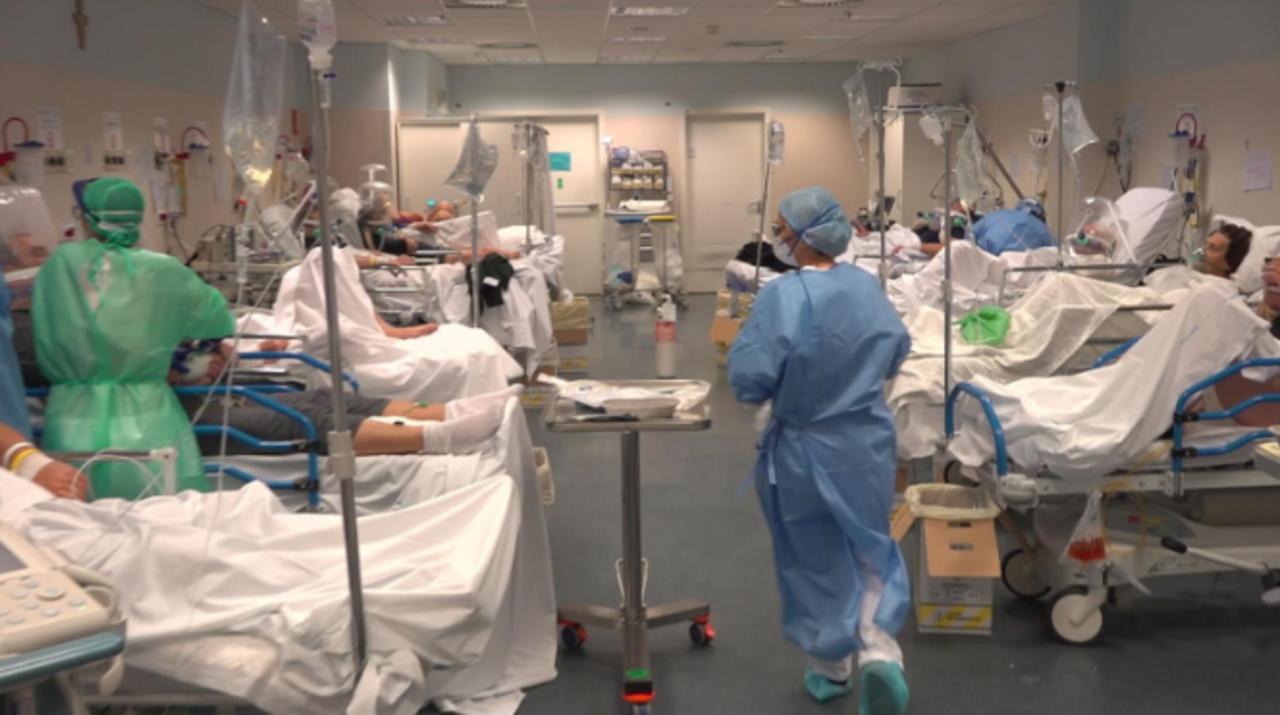 Przerażający film ze szpitala w Bergamo. Lekarze ostrzegają: Przygotujcie się!