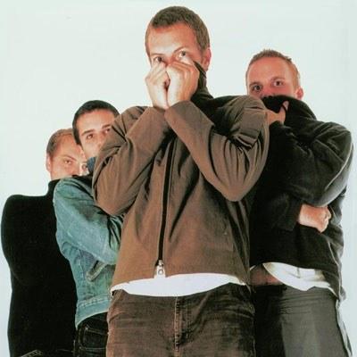 Przerażeni Coldplay /