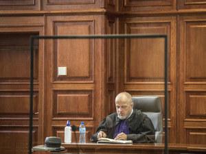 Przerwa w orzekaniu przez sędziego Piotra Gąciarka. Zarządził ją prezes Sądu Okręgowego w Warszawie