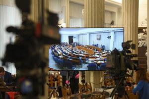Przerwa w Senacie. Klub PiS wnioskował o zmianę trybu obrad