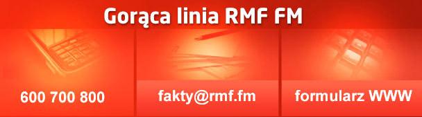 Prześlij informację, zdjęcie lub film na gorącą Linię RMF FM. /RMF