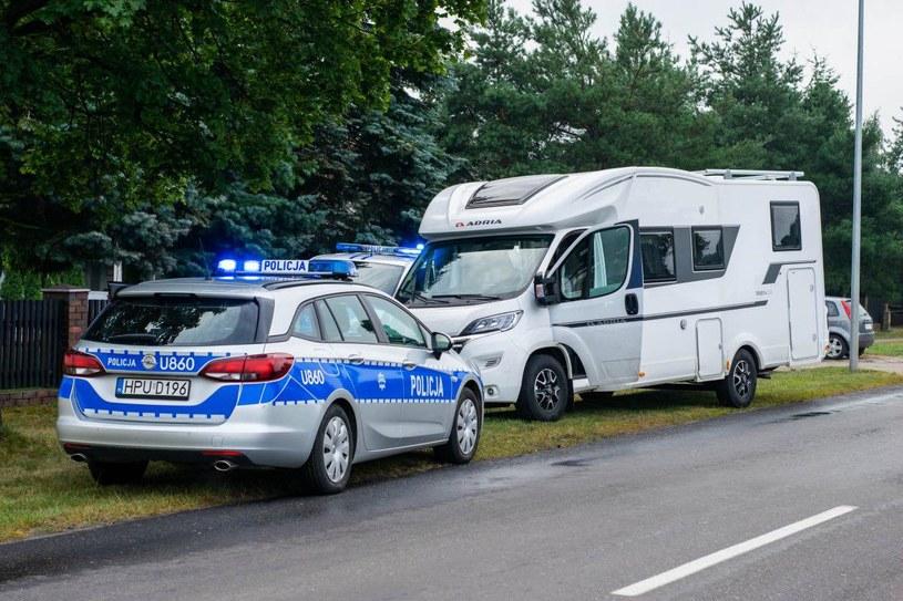 Przestępcy kradli chętnie m.in. kampery /Policja
