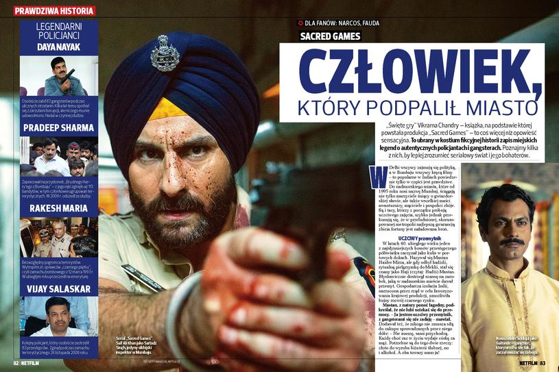 """Przestępcy z egzotycznego Mumbaju byli pierwowzorami dla postaci z serialu """"Sacred Games"""" /materiały prasowe"""
