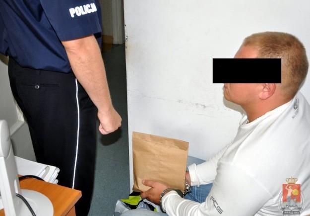 Przestępcy zostali zatrzymani na gorącym uczynku /Policja