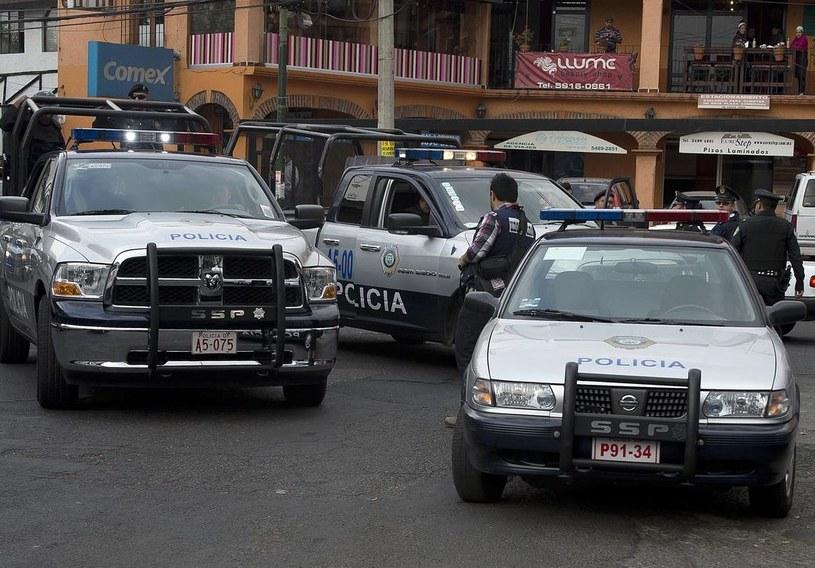 Przestępczosć jest jednym z największych problemów współczesnego Meksyku /AFP