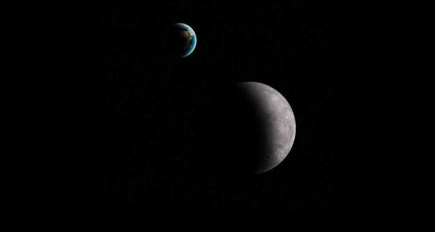 Przestrzeń pomiędzy Ziemią a Księżycem często naruszają małe planetoidy /materiały prasowe